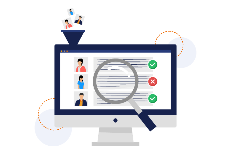 applicant tracking module in recruitment system